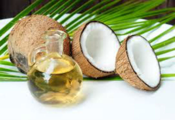 queimadura oleo de coco